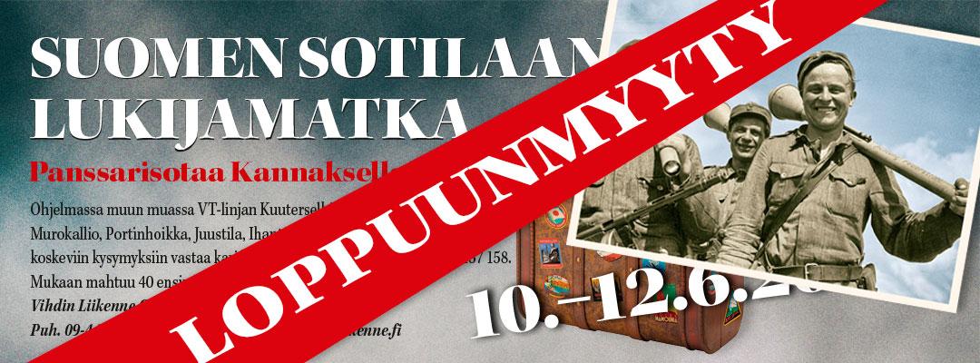 Lukijamatka 2016 suuntautuu Karjalan Kannakselle