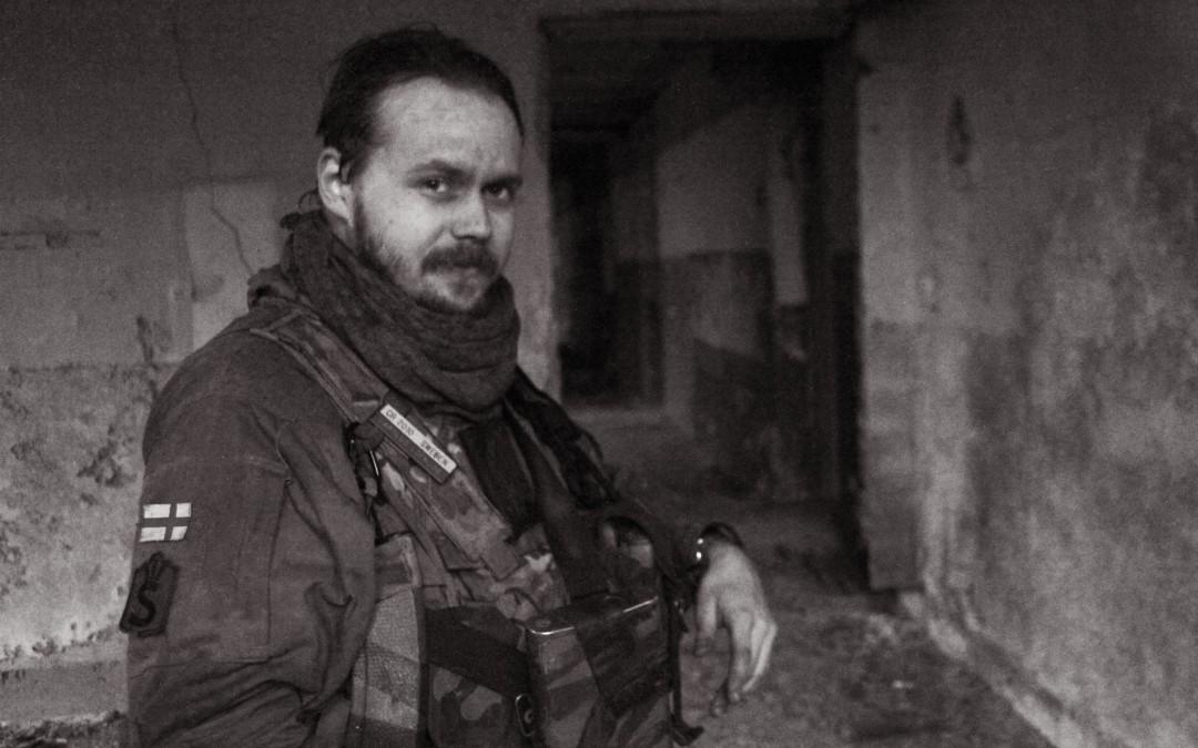 Dragsvikin rannikkojääkäri vapaaehtoisena Ukrainassa