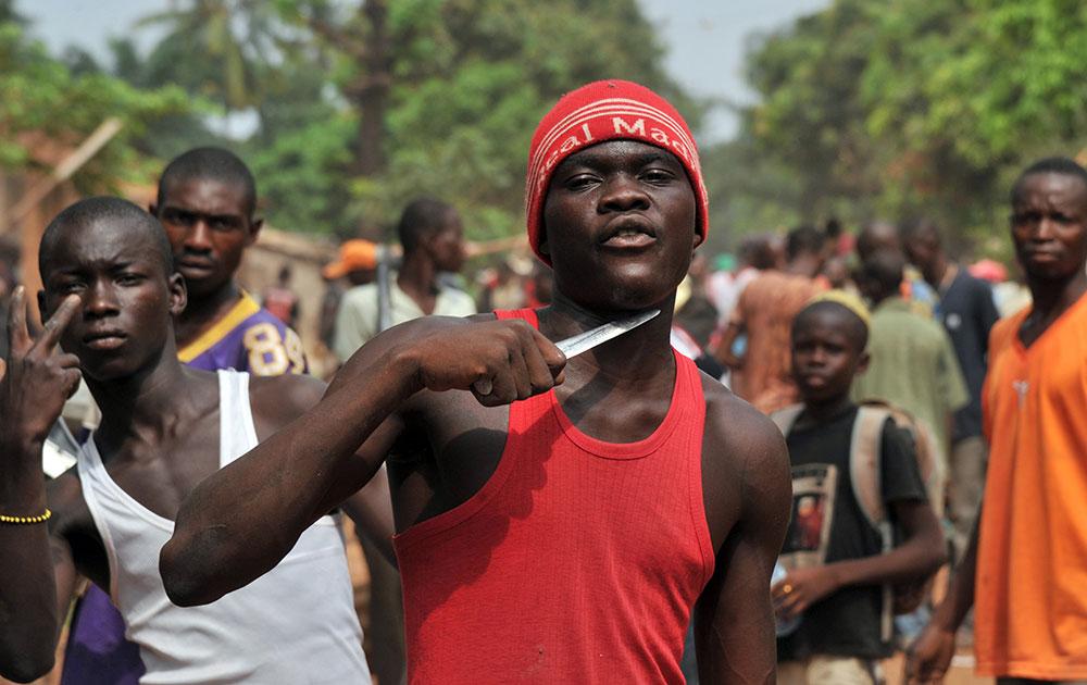 Rauhanturvaaia tulitettin Keski-Afrikassa