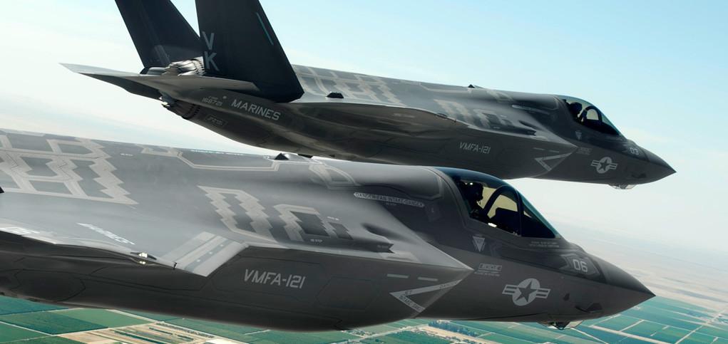 F-35B alustavaan palveluskäyttöön merijalkaväessä