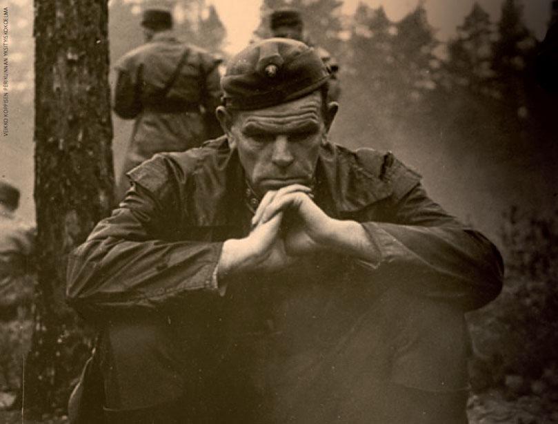 Veikko Koppinen – ladun avaaja, upseeri, isä, runoilija