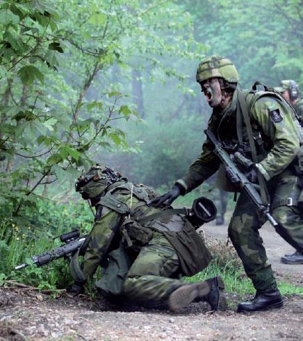 Ruotsi – Maa ilman maavoimia