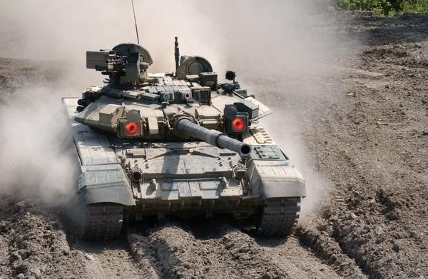 T-90 Syyriassa – savua vai verhoa?