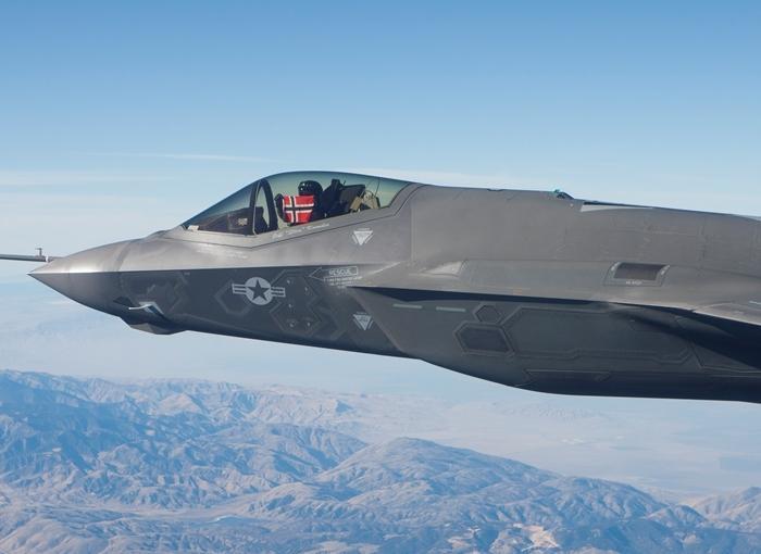 Norjan ensimmäinen F-35 valmistui