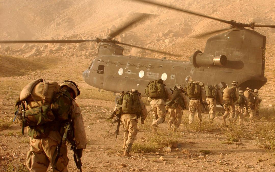 Afganistan Etelä-Vietnamin tiellä