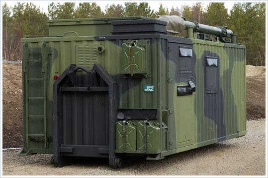 Puolustusvoimat hankkii Conlog Oy:ltä viestiasemalaitesuojia