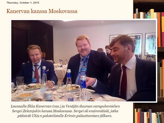 Ilkka Kanervaa ja Suomea nöyryytettiin Moskovassa