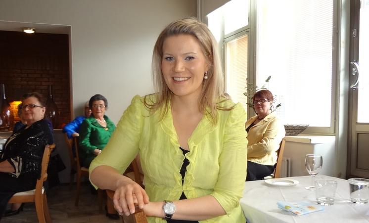 Sofia Vikman MTS:n puheenjohtajaksi