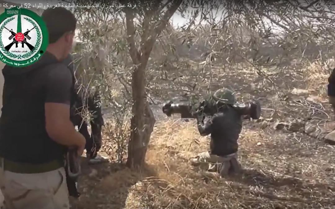 Syyrian kapinallisilla käytössään suomalaisille tuttuja aseita