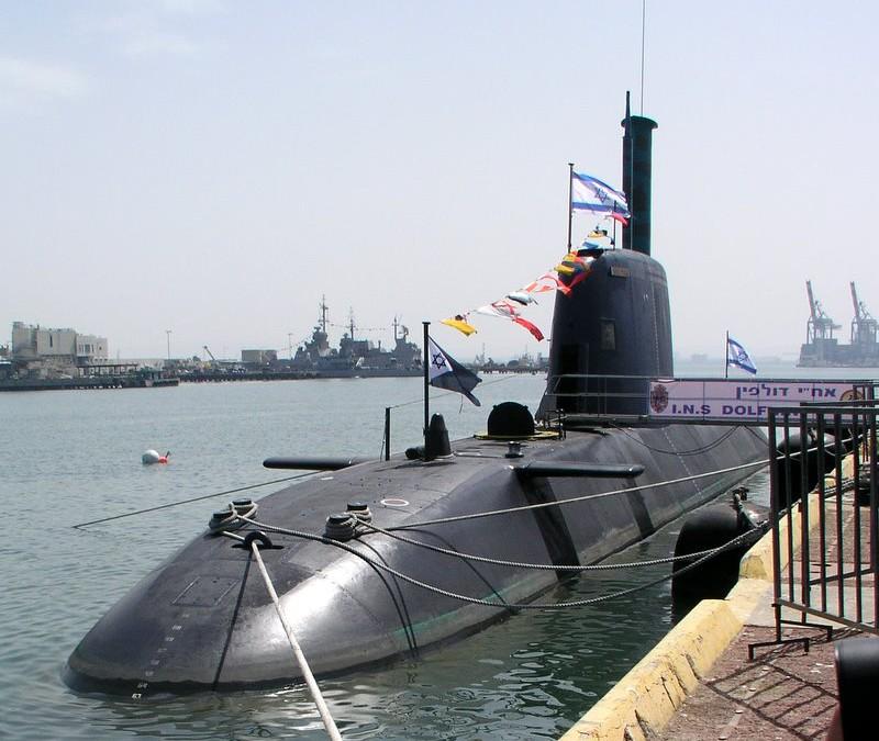 Israelin uusin sukellusvene valmistui saksalaiselta telakalta