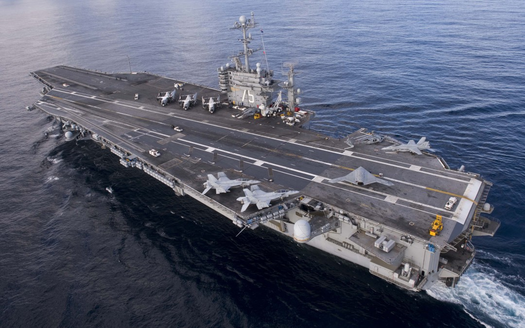 Iran ampui raketteja amerikkalaisia kohti Hormuzinsalmessa