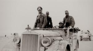 Kenraali Erwin Rommel Pohjois-Afrikassa