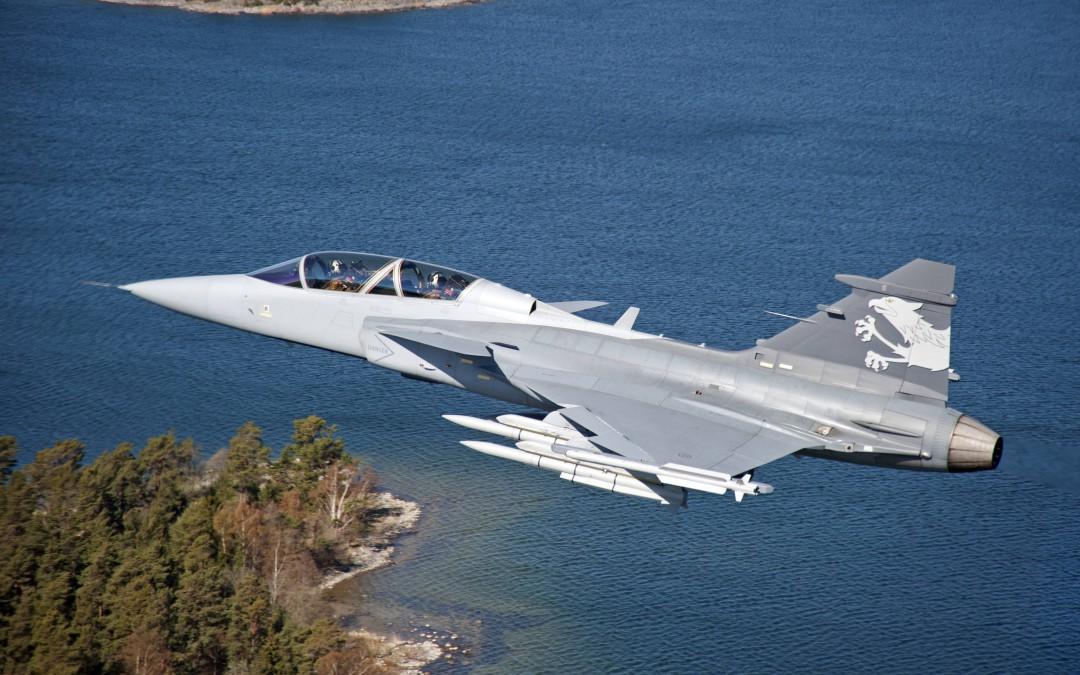 SAAB GRIPEN hävittäjät saapuvat kesällä Suomeen päälentonäytökseen Kuopioon!