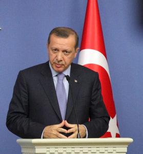 Turkin presidentti Recep Tayyip Erdoğan vuonna 2012, kuva Wikimedia Commons