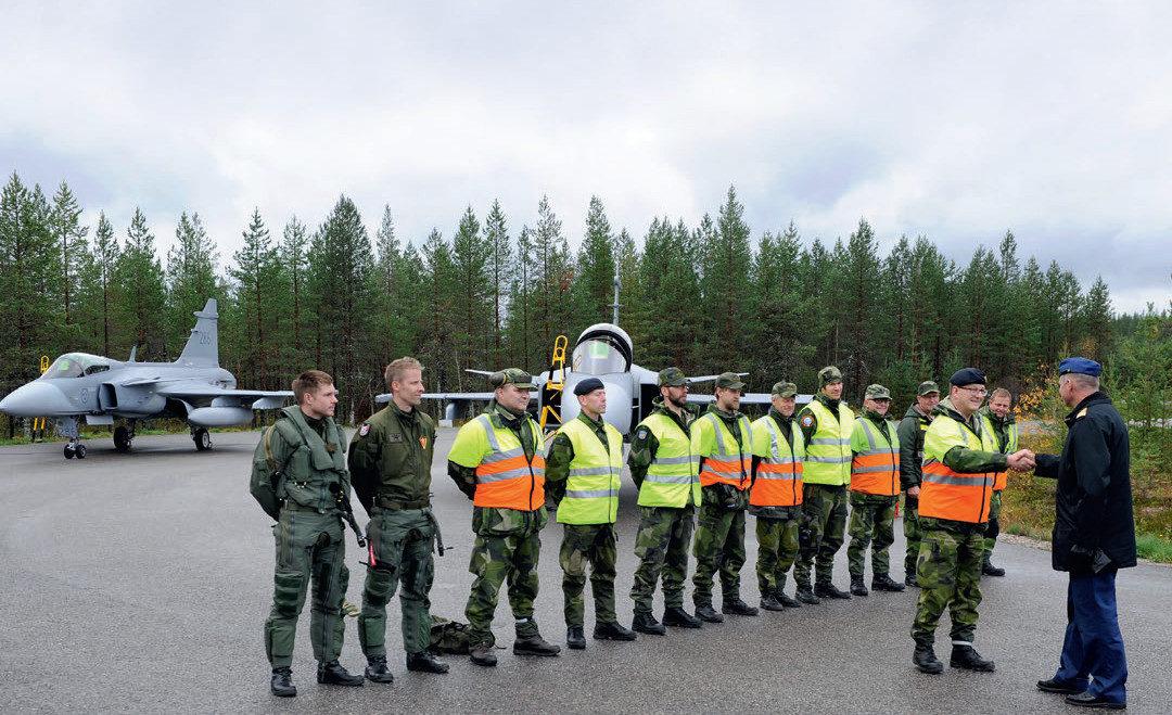 Suomen ja Ruotsin yhteinen ilmapuolustus?