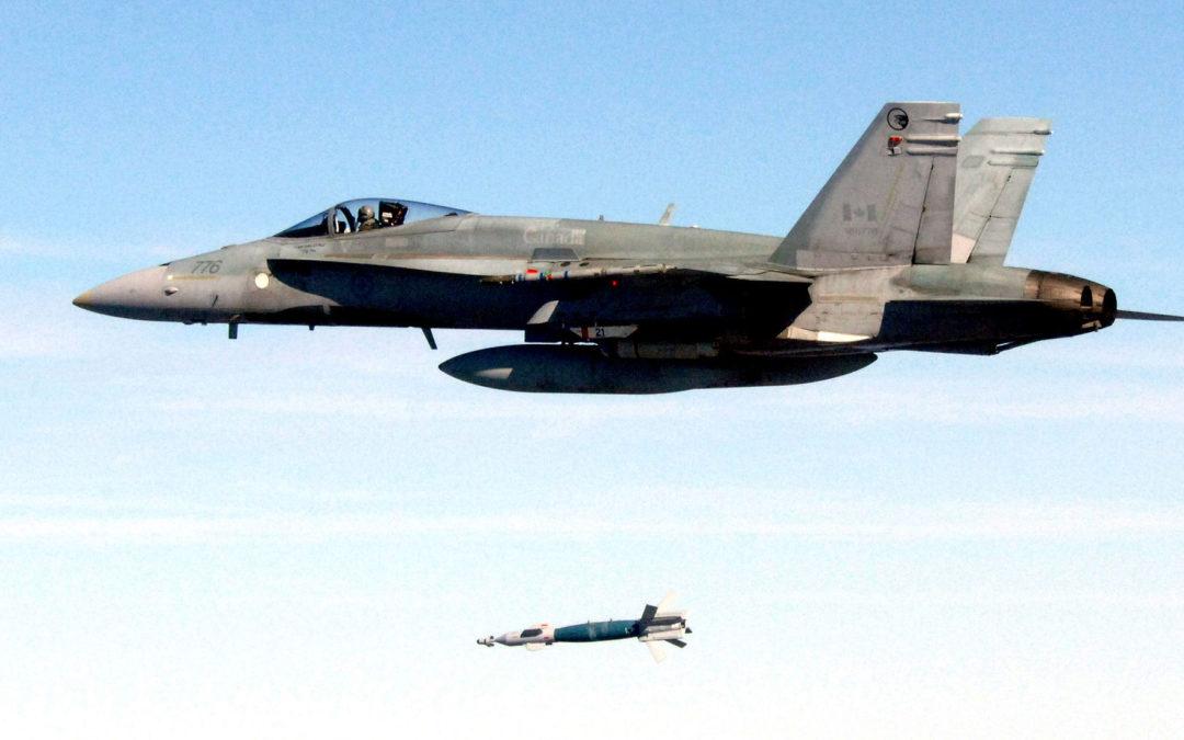 Kanadan ilmavoimien Hornet tuhoutui harjoituksessa