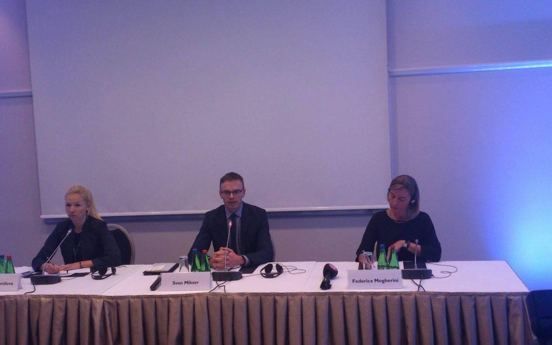Lennart Meri -konferenssi alkoi Virossa