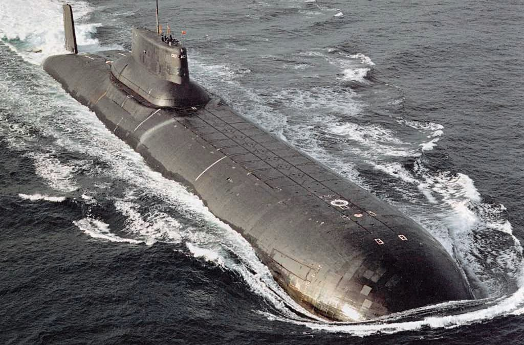 Maailman suurin ydinsukellusvene ensimmäistä kertaa Itämerellä