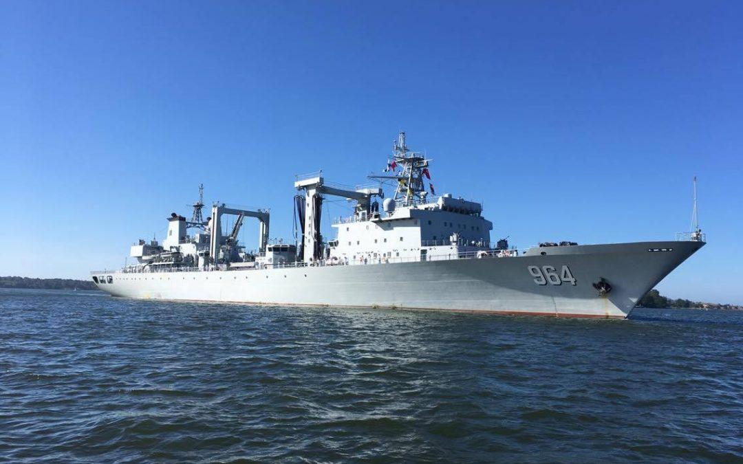 Amiraali Zhengin perilliset Helsingissä