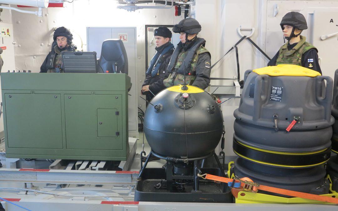 Suomen Sotilas Uusimaa -harjoituksen matkassa