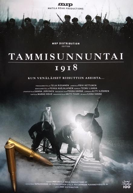 Elokuva tammisunnuntaista teattereissa lauantaina 26.1.2018