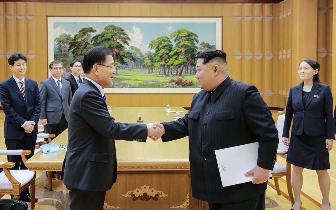 Kim Jong-un, rauhanneuvottelut ja ydinaseet