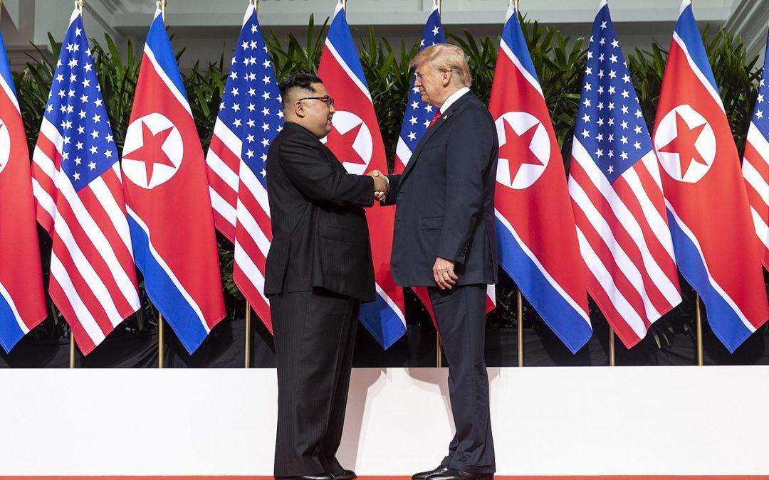 Trump ja Kim – näytelmä, jossa roolitus toimii
