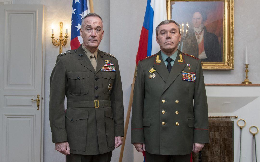 Gerasimov ja Dunford Suomessa