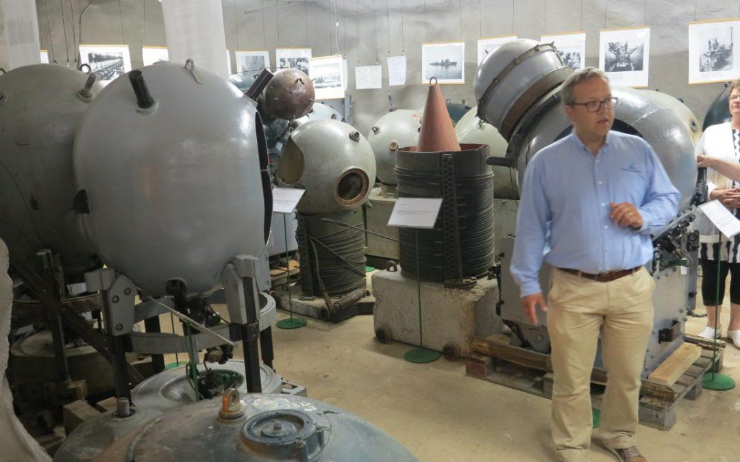 Pansion sodanaikaisessa varastoluolassa on ainutlaatuinen miinamuseo