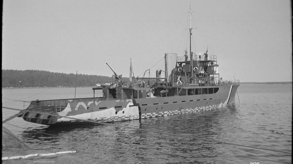 Miinalaiva Riilahden torpedoinnista 75 vuotta