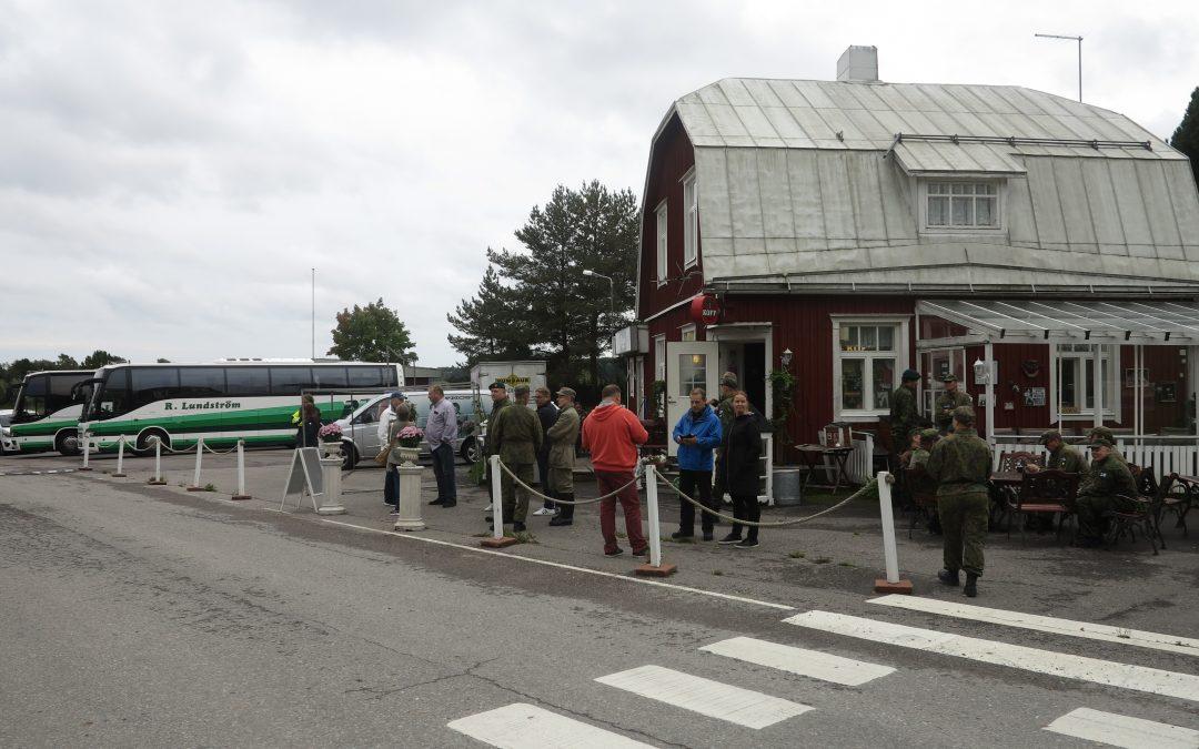 Degerbyn kylän asukkaat evakuoitiin