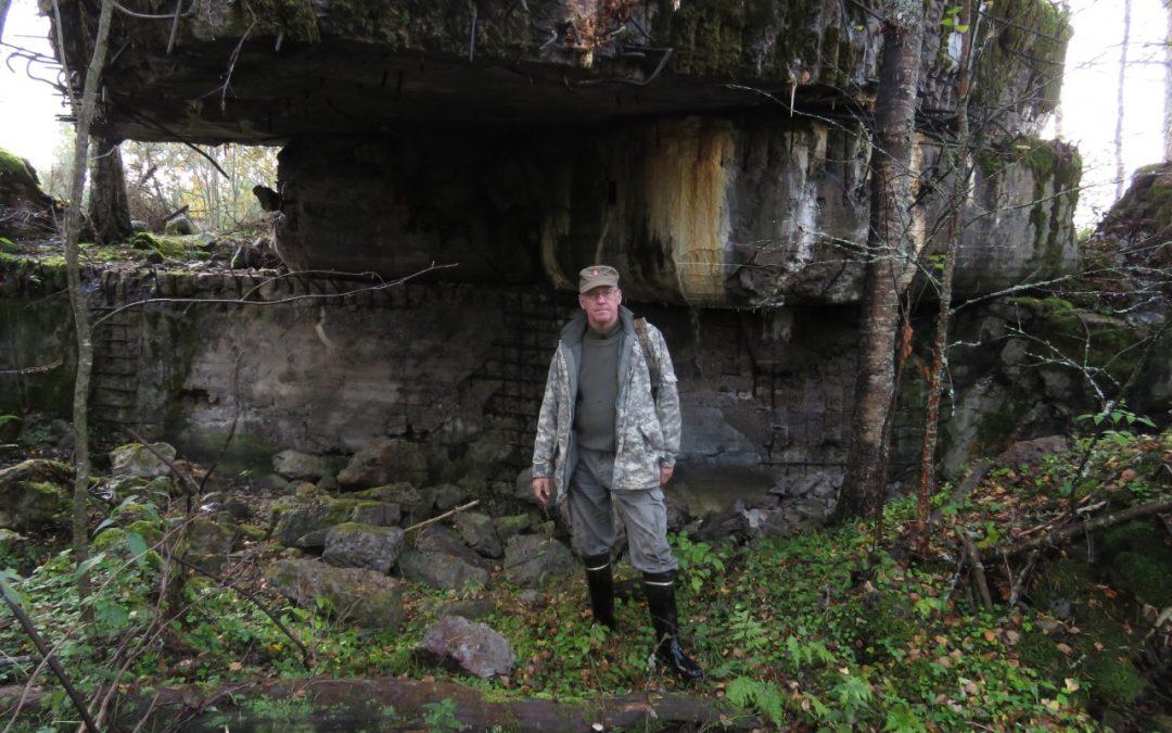 Upseeripartio unohtuneella Salmenkaitajoki-linjalla
