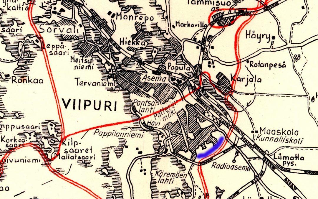 Kohteena Viipurin linnoitteet