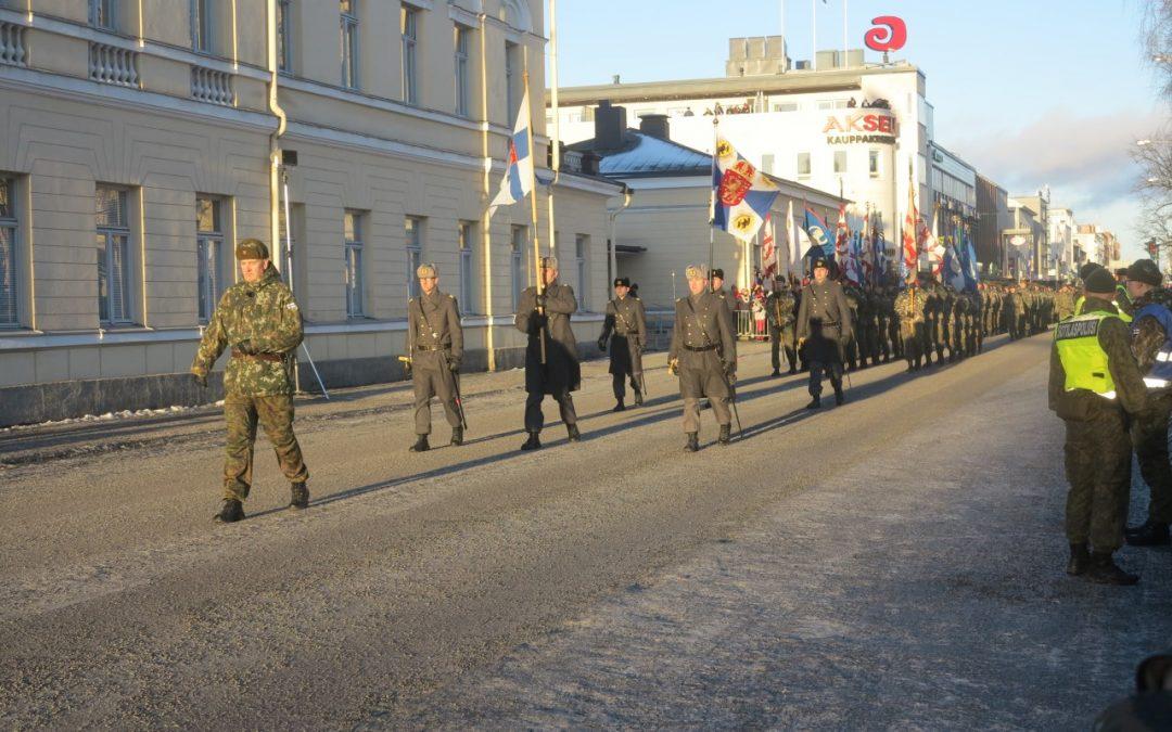 Itsenäisyyspäivän valtakunnallinen paraati 2018 Mikkelissä
