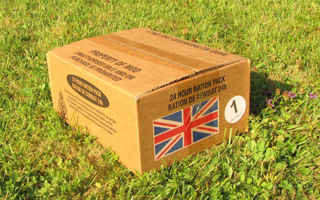 Suomen Sotilas testasi brittiarmeijan ruokalaatikon
