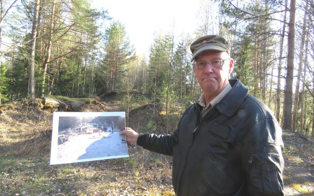 Suomen Sotilas -lehden partio Kannaksella