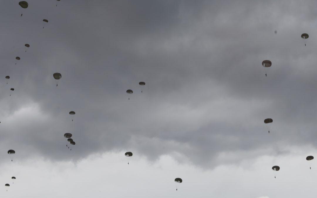Normandiassa hypättiin uudestaan