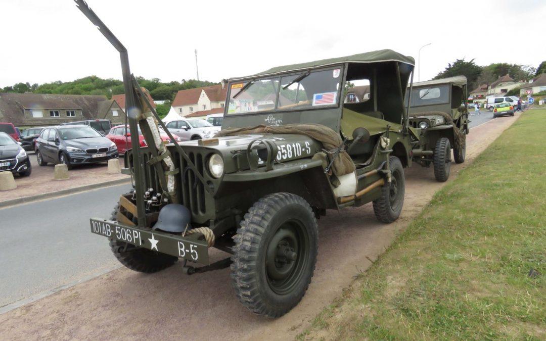 Sotilasajoneuvot Normandiassa